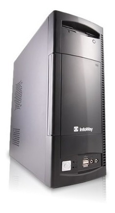 Pc Cpu Itautec Dual Core 2gb #maisbarato