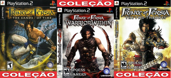Principe Da Persia Ps2 Coleção (3 Dvds) Patch Prince