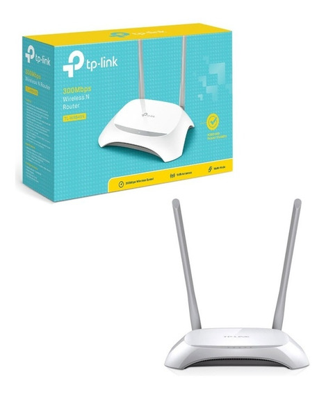 Router Tl-wr840n 2 Antenas 300mbps Lan Red Wan Tp-link Ccc