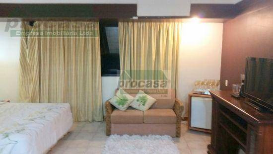 Flat Com 1 Dormitório À Venda, 50 M² Por R$ 170.000,00 - Ponta Negra - Manaus/am - Fl0013