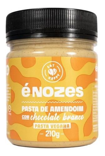 Pasta De Amendoim Com Chocolate Branco