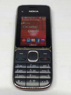 Celular Nokia C2-01 C/ Cartão Memoria 2gb Vivo (cel Usado)
