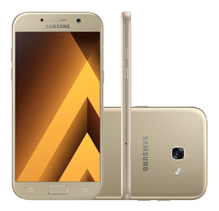Samsung Galaxy A5 A520f 32/3gb Dual 16mp Dourado Vitrine 3