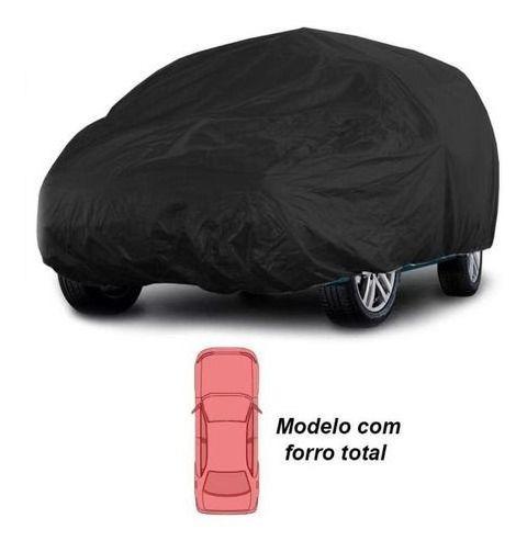 Capa Para Carro Tamanho M Alta Qualidade Preta