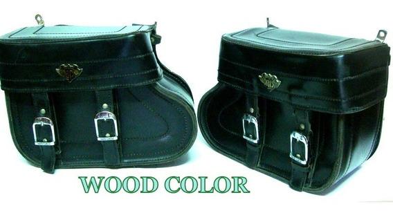 Bolsa Para Motos - C/ Suportes - Sissy Bar Bag - Rider Class