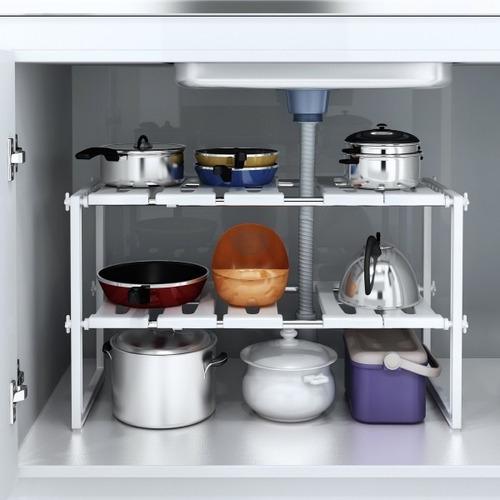 Estante Ajustable Organizador Multiuso Cocina Baño