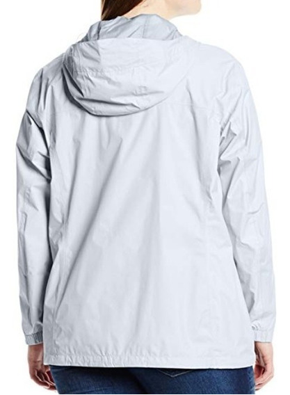 Columbia - Chamarra Impermeable Para Mujer Talla Extra 1x