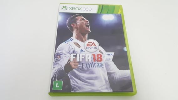 Jogo Fifa 18 - Xbox 360 - Original - Mídia Física