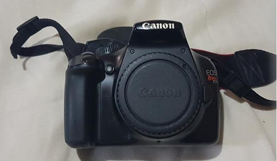 Canon Rebel T3 Com 3 Lentes E Flash