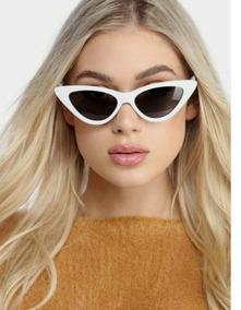 68fe86b98 Oculos Anos 60 Gatinha Branco De Sol - Óculos no Mercado Livre Brasil