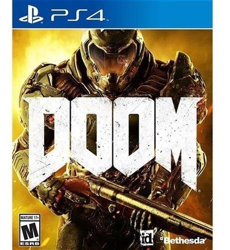 Jogo Doom - Ps4 - Midia Fisica