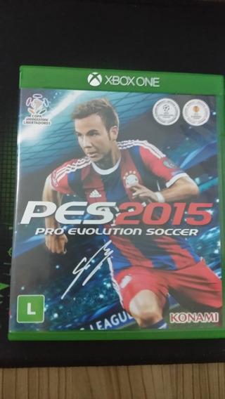 Pro Evolution Soccer Pes 2015 Xbox One Mídia Física
