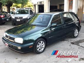 Volkswagen Golf 1.8 Gl Mi Aa Año 1999 Aire Dirección Verde