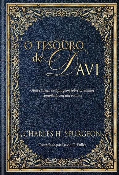 O Tesouro De Davi - Charles Spurgeon Capa Dura