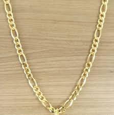 Cordão Corrente Masculino Banhada Ouro 18k 70cm