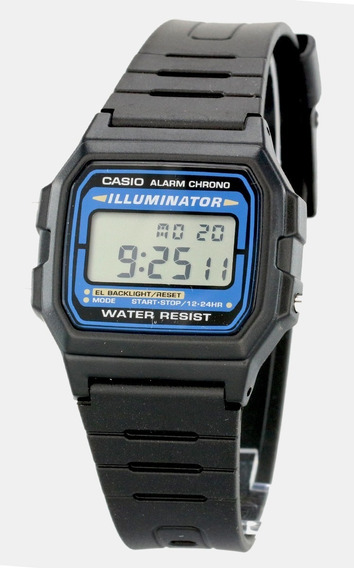 Reloj Casio F-105w Illuminator Original