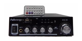Consola Potenciada Sd Usb Aux 200w 12 Y 220v Local Funcional