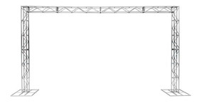 Treliças Kit Trave Box Truss Q20 Aço 3x5m. Frete Grátis