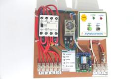 Sist. Transf. Solar E Rede 10a 220v Liga E Desliga Inversor.