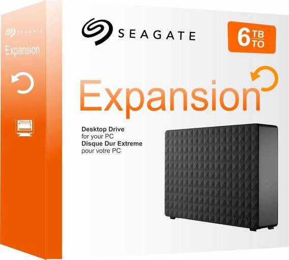 Hd Externo 6tb Seagate Expansion Usb 3.0 E 2.0