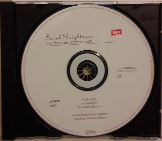 Sarah Brightman Cd The Trees They Grow So High 1998 Orig