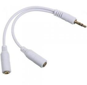 Cabo Duplicador Splitter Fone P2 J2 Apple Ipod Iphone Ipad