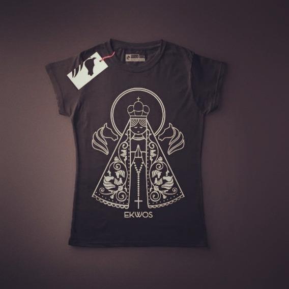 Camiseta Ekwos Femenina Ns. Senhora Tam M 100% Original