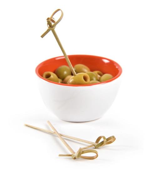 1000u Pinchos De Bambú Largos 12cm - Finger Food Catering