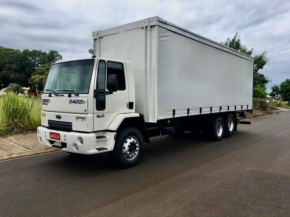 Ford Cargo 2422 2011 Bau Sider 8.5 Mts Impecavel