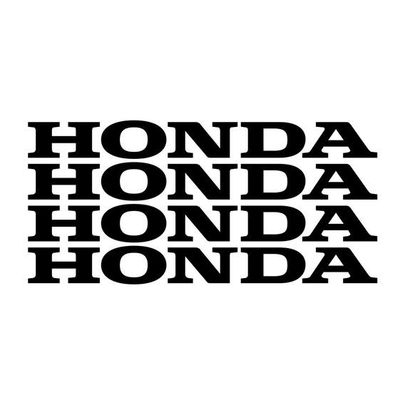 Kit 4 Adesivos Honda Aro Moto Cg Titan Twister Cb Xre