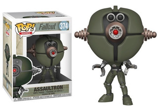 Funko Pop! Assaultron 374 Fallout Muñeco Original
