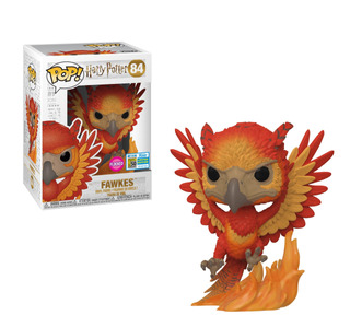 Figura Funko Pop Movies Harry Potter - Fawkes 84