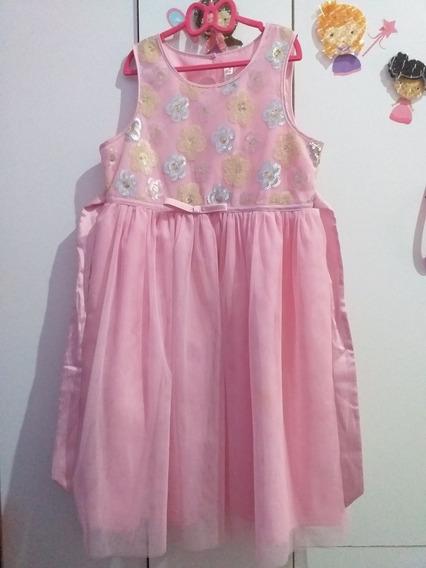 Vestido Importado De Fiesta Nena Talle 14/16 Cherokee