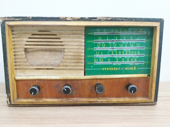 Radio Antigo Montreal 5 Faixas Funcionando Perfeitamente