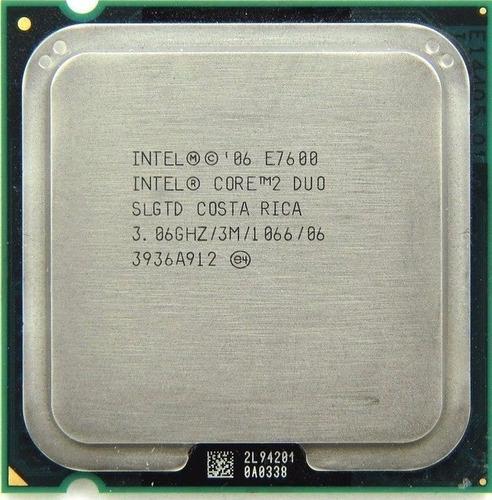 Kit Core 2 Duo E7600 + 2gb Ddr2 800