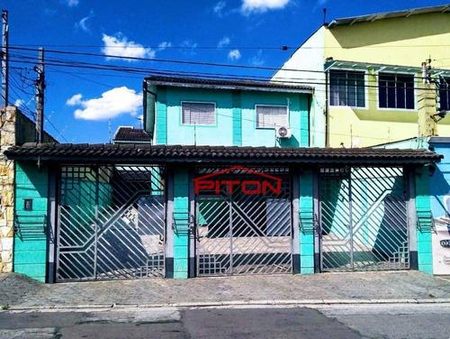 Sobrado Com 2 Dormitórios À Venda, 65 M² Por R$ 330.000,00 - Cangaíba - São Paulo/sp - So2322
