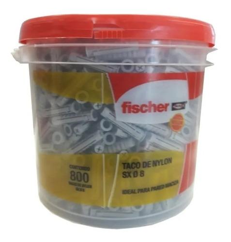 Taco Tarugo Fischer Sx8 Balde  X 800 U