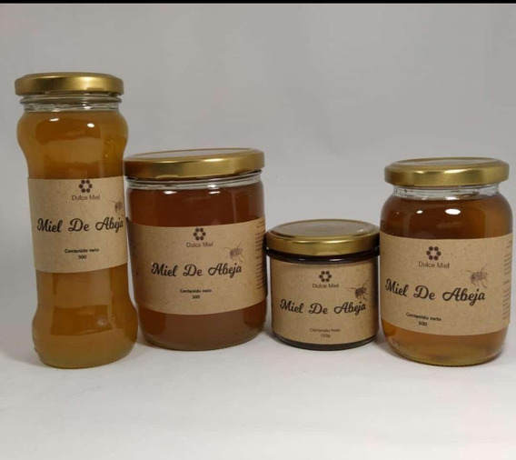 Miel De Abeja 100% Pura/ Productos Naturales/ Ecológica