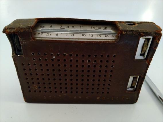 Radio Antigo Hitachi Wh 829 H