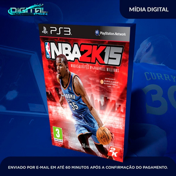 Nba 2k15 Ps3 Psn Game Digital Envio 15min.