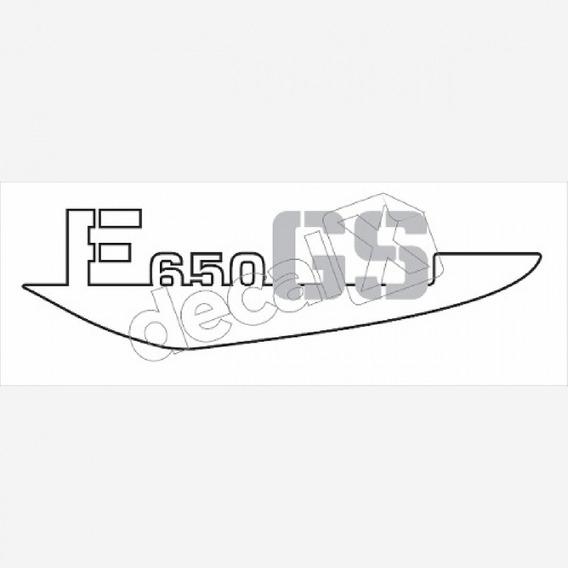 Emblema Adesivo Bmw F650gs Amarela Par Bwf65003