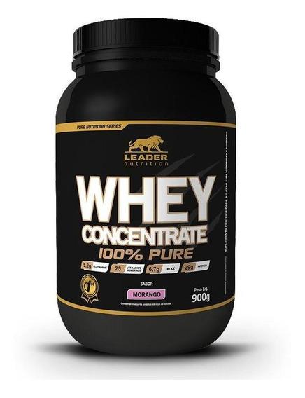 Whey Concentrado 100% Pure (900g) Leader Nutrition