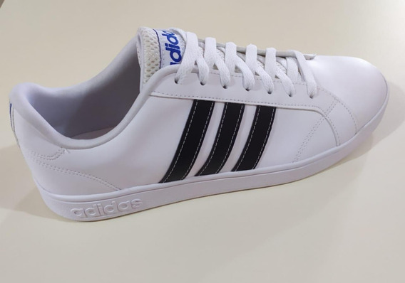 Tenis adidas Advantage Branco Preto