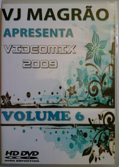 Dvd Vj Magrão Videomix 2009 Volume 6