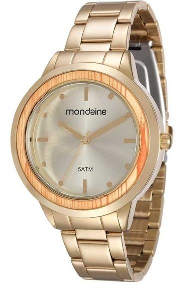 Relógio Mondaine Feminino Moda Original Nota 99055lpmvde1