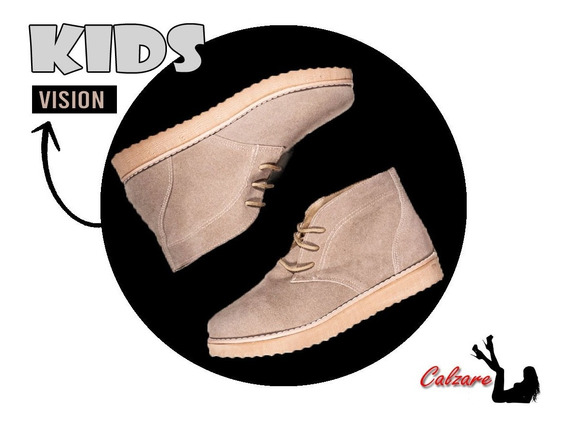 Botitas Chavito Kids Calzado Zapatos Moda Nena