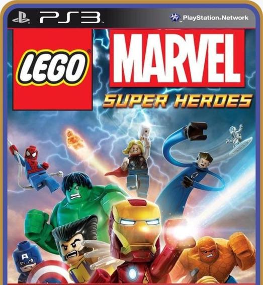Lego Marvel Super Heroes Legendas Português Ps3 Psn Jogo