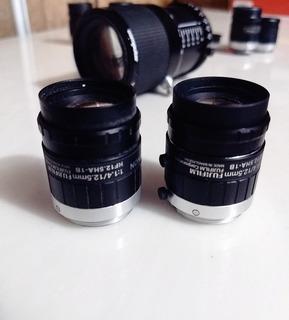 Lente Tipo C Fujifilm De 12.5mm Hf12.5ha-1b Fujinon