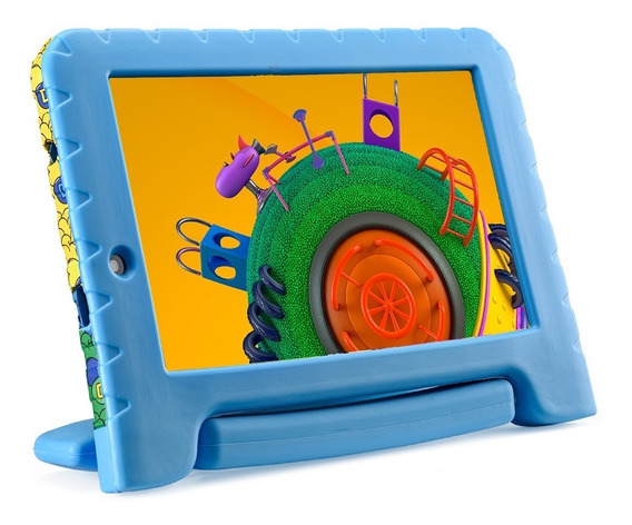 Tablet Multilaser Discovery Kids Plus Nb309 1gb 16gb Expansível 32gb 2 Câmeras Android Nota Fiscal Garantia Oferta Loi