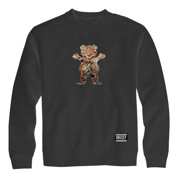 Blusa Grizzly Urso Bear Moletom Grizzly Promoção Qualidade